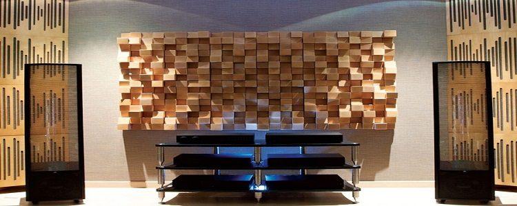 Difüzör Ahşap Akustik Panel