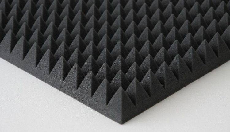 Akustik Piramit Sünger 2.5 CM