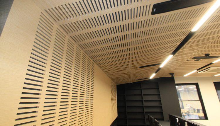 Derzli akustik paneller